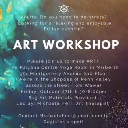Art Workshop Flyer