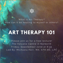 Art Therapy 101 Flyer
